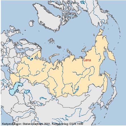 lena kart Elvedelta   status og overvåking ; Delta nummer:122 lena kart